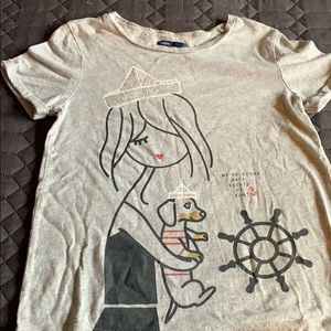 Girls Gap T-Shirt - L